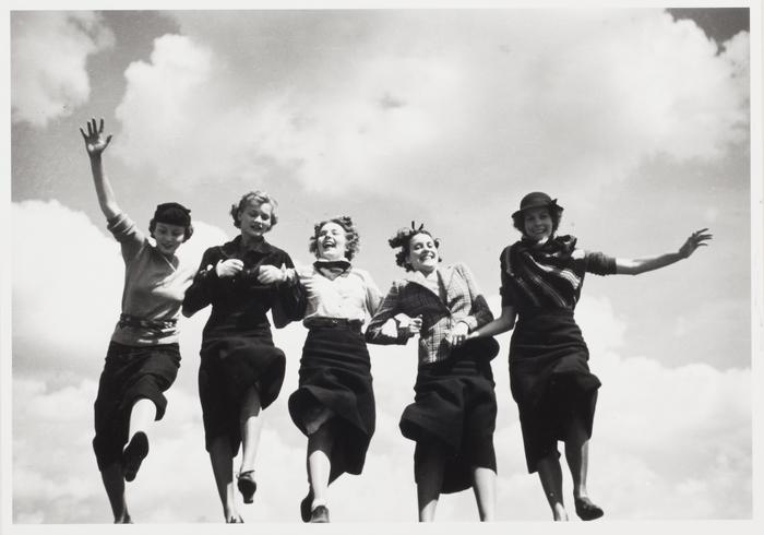 Five Girls Running, New York