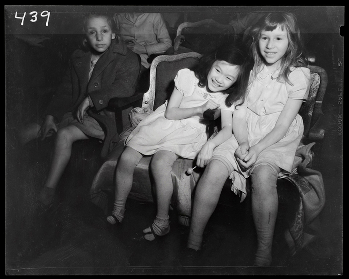 [Children watching movie, New York]