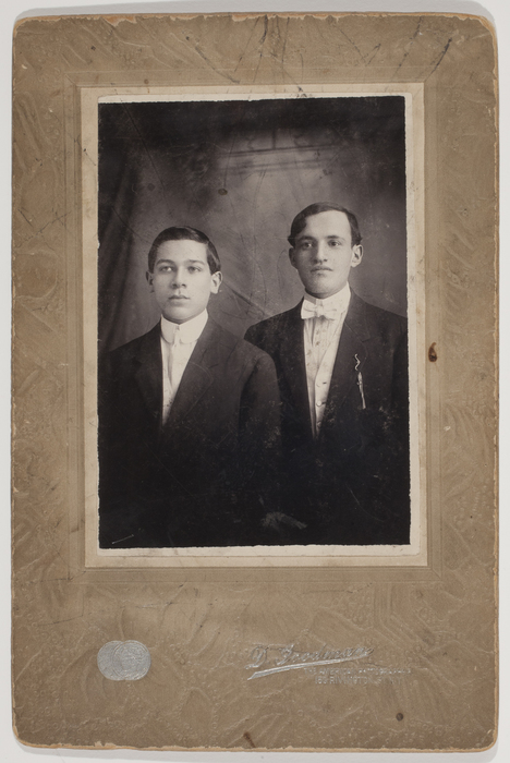 [Two Unidentified Young Men]