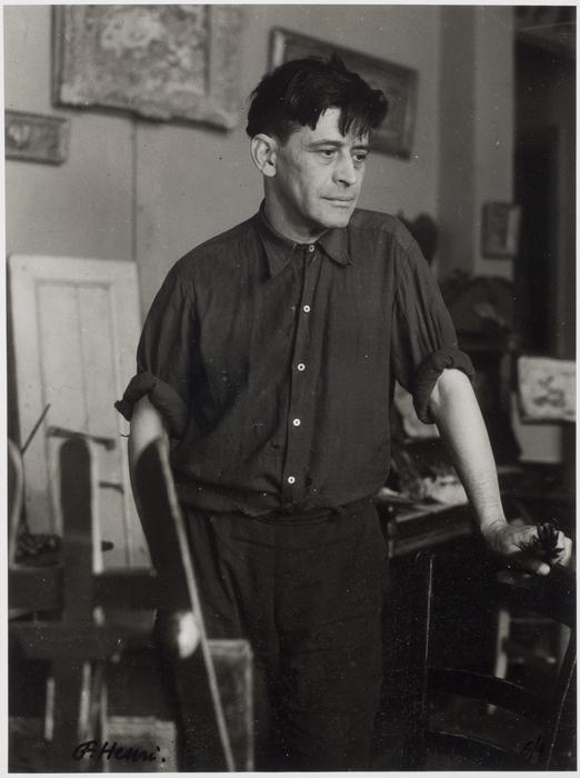 Portrait de Ivan Puni (Jean Pougny)