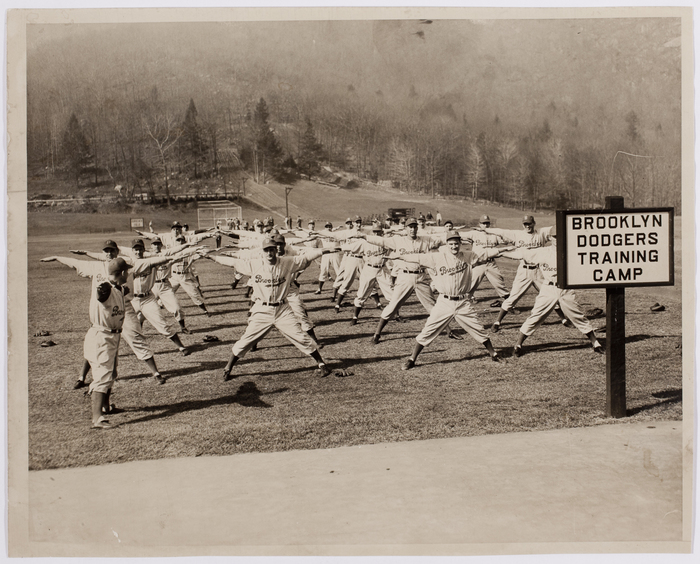 [Brooklyn Dodgers Training Camp, Bear Mountain, New York]