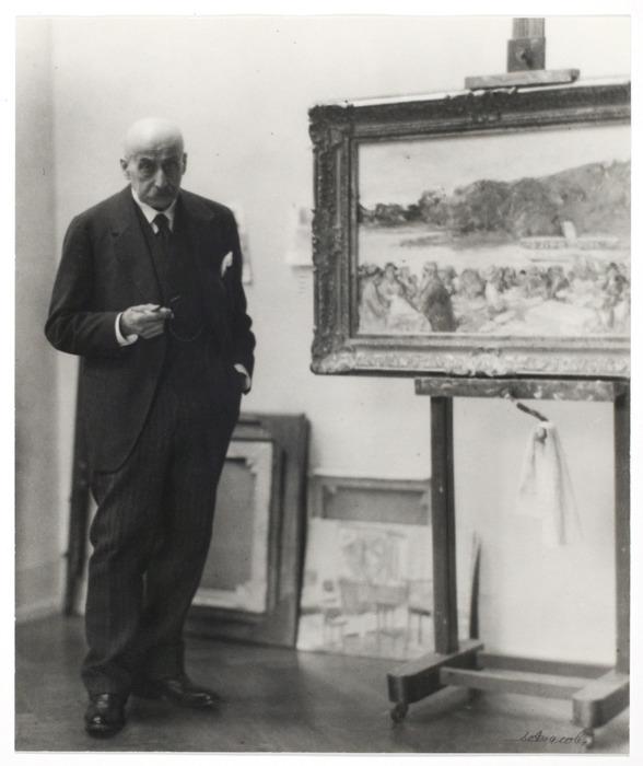 Max Liebermann, artist, Berlin