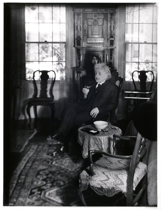 Albert Einstein, physicist, Noble Prize winner, Princeton, N.J.