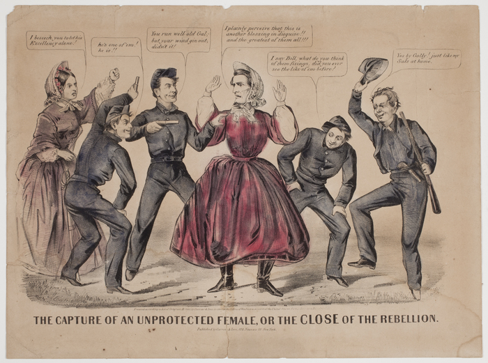 The Capture of an Unprotected Female, or the Close of the Rebellion