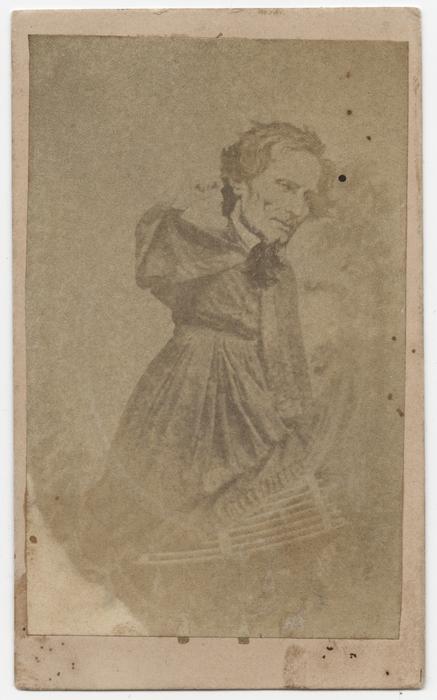 [Jefferson Davis in women's clothing]