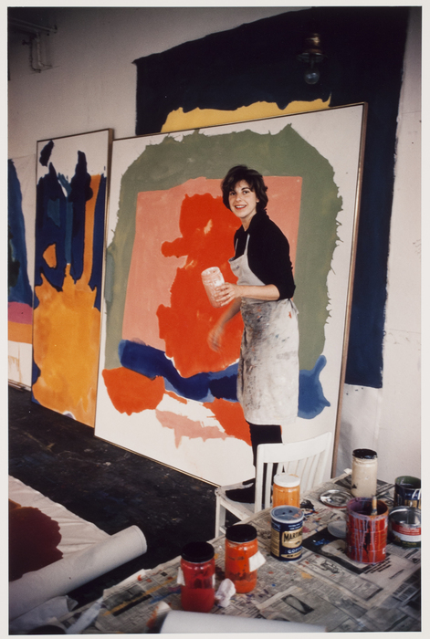 Helen Frankenthaler, New York City