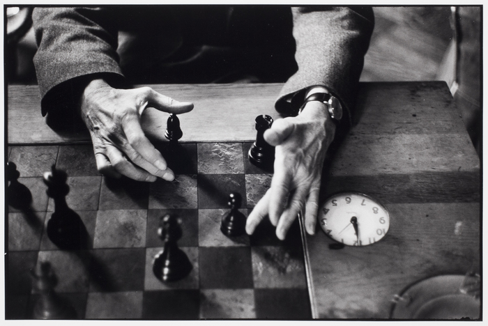 Marcel Duchamp's hands, New York City