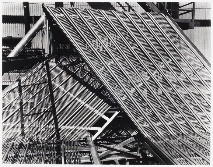 Control Lines on the Roof of a Control House