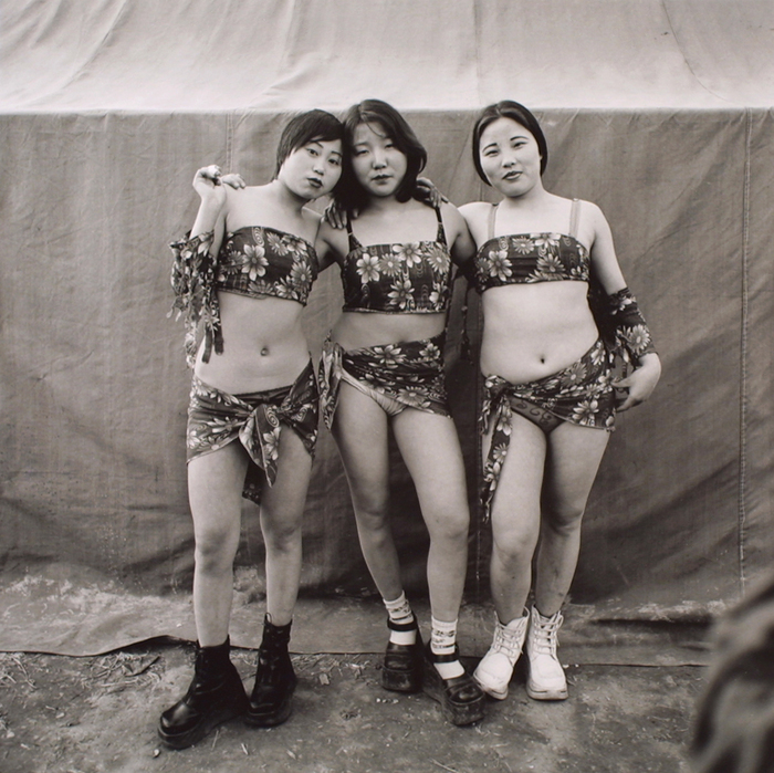 Three Country Strippers, Huoshentai, Henan Province