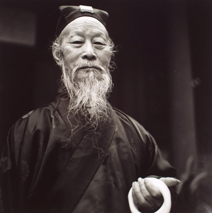 Taoist Priest, White Cloud Temple, Beijing
