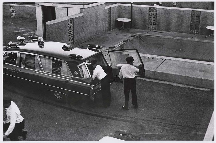Ambulance at site of King assassination, Memphis, Tennessee