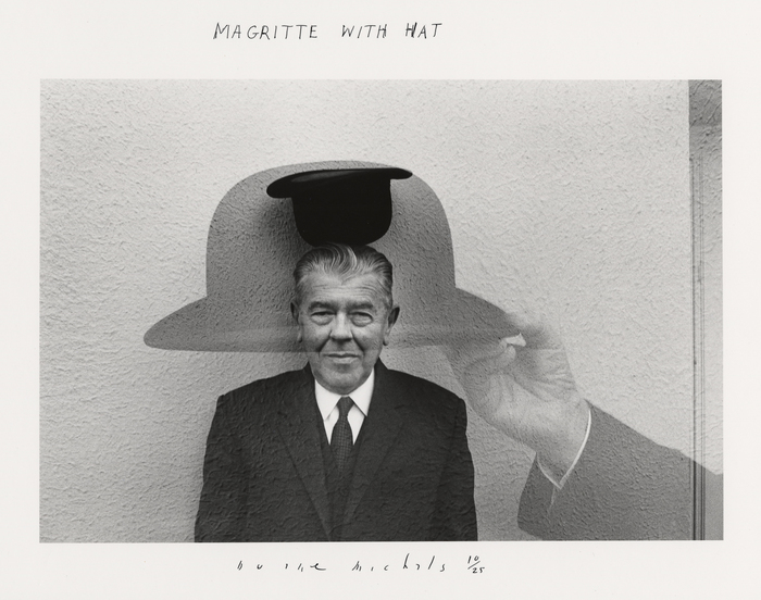 Magritte with Hat