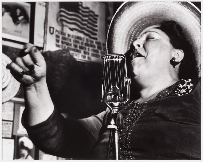 Singer at Sammy's, New York