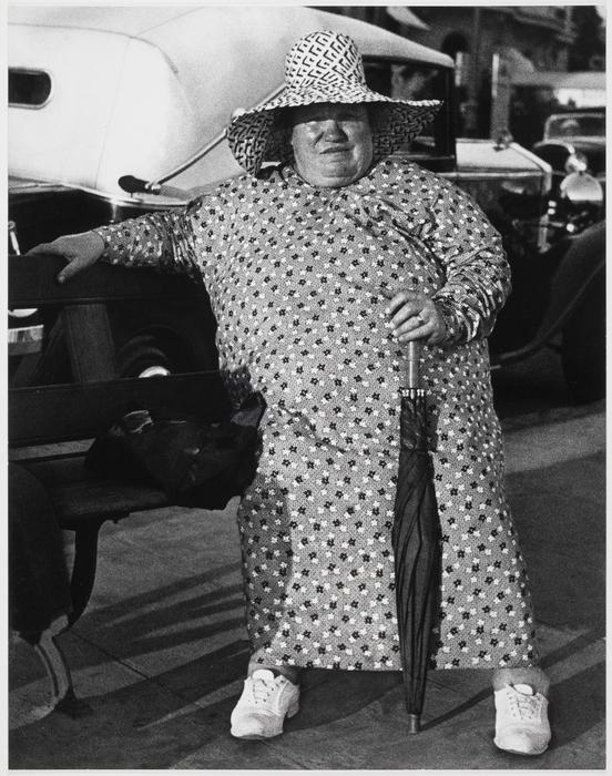 Woman in Flowered Dress, Riviera
