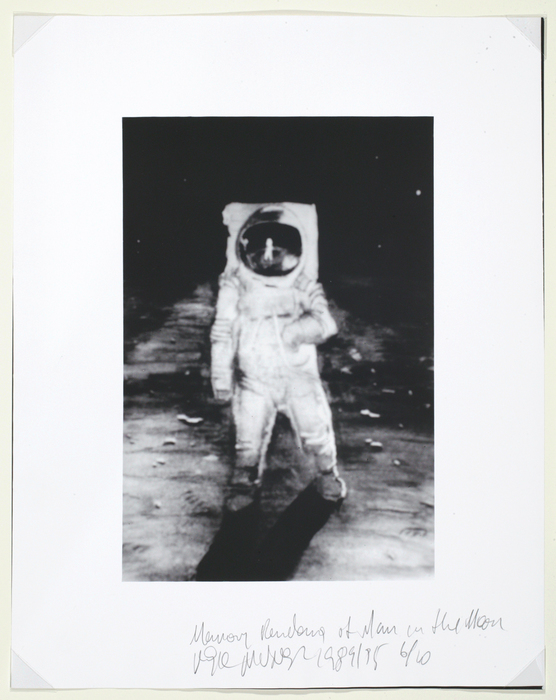 Memory Rendering of the Man on the Moon