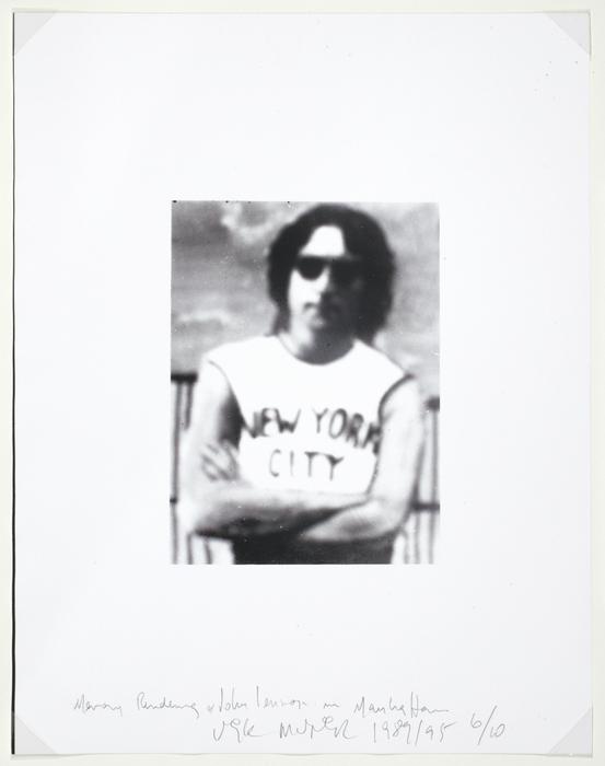 Memory Rendering of John Lennon in Manhattan