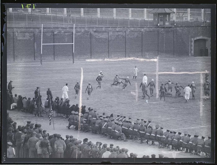 [Football game, Chicago]