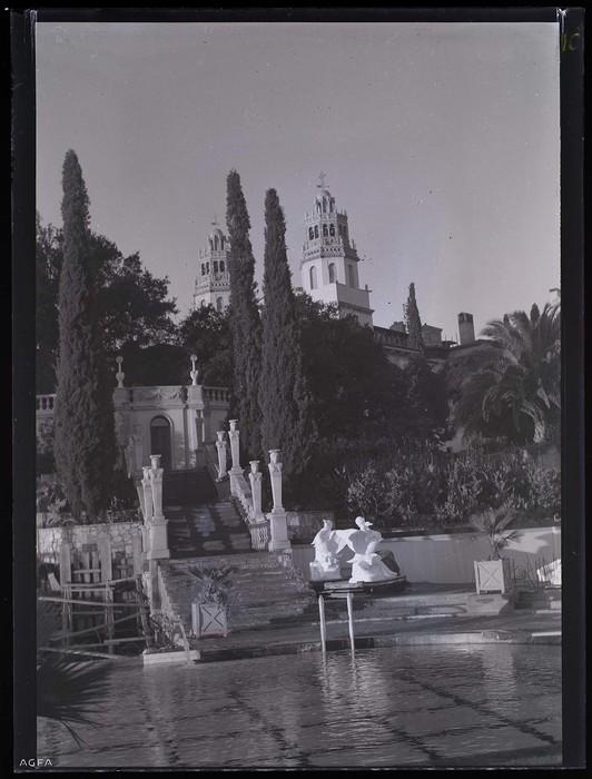 [Fountains, Hearst Ranch, San Simeon, California]