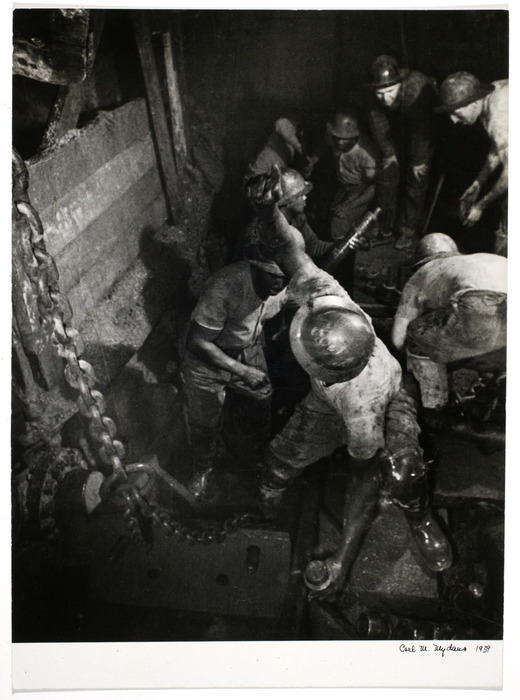 [Sand Hogs, building Mid-Town tunnel, New York]