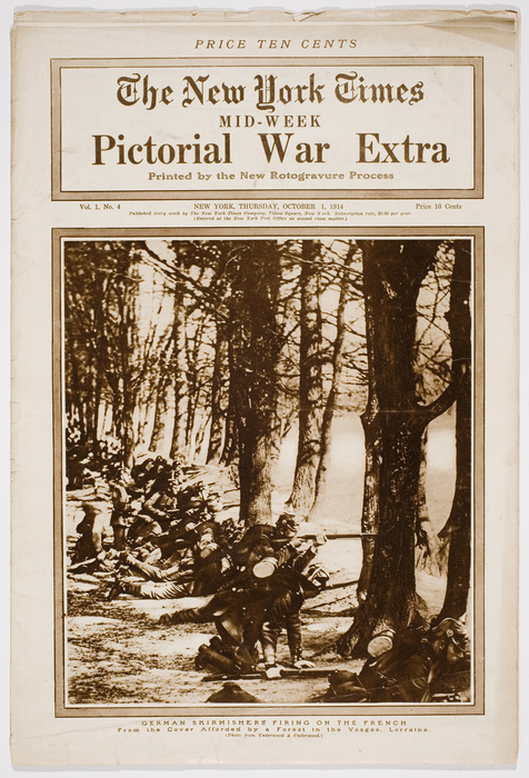 The New York Times Mid-Week Pictorial War Extra