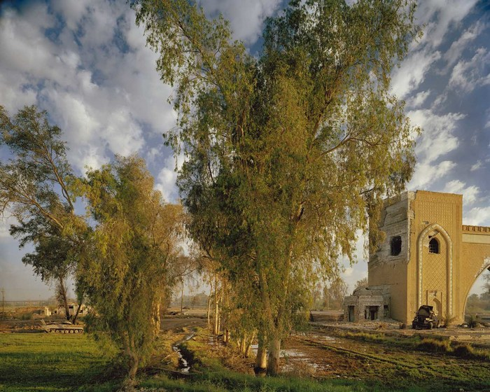 The North Gate of Baghdad (After Corot)