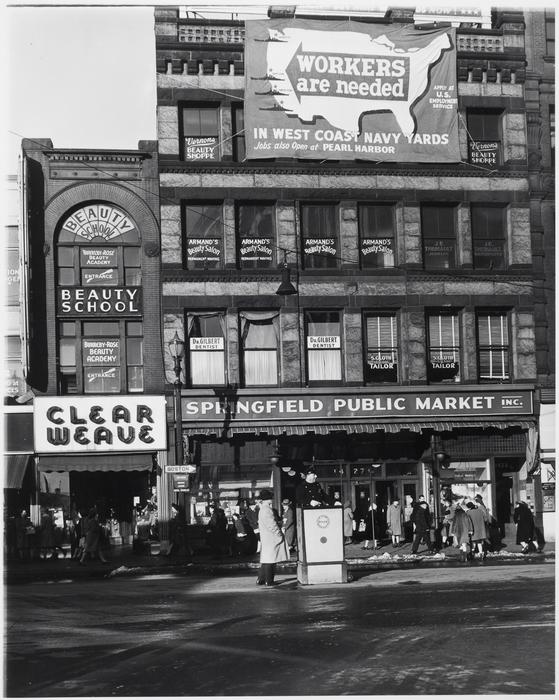 Main Street Scene, Massachusetts