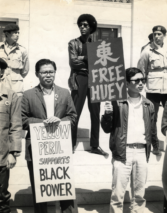 Yellow Peril Supports Black Power, Oakland, California