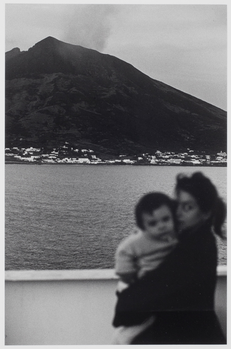 Francoise et Jsogrim et down in Stromboli Island, Italy