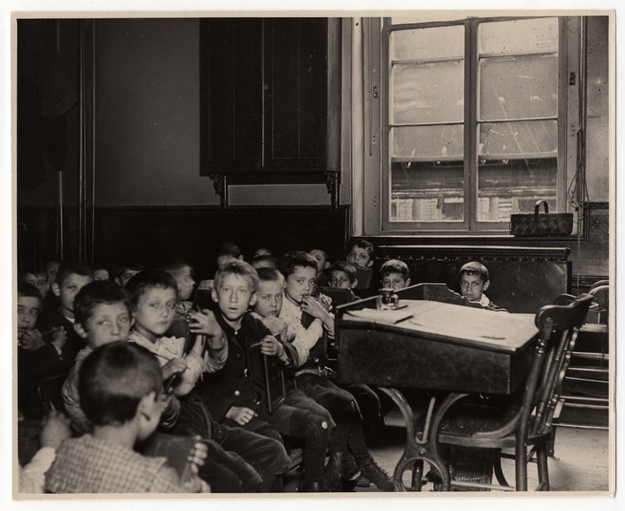 Classes in Allen St. and Chrystie St. Public Schools