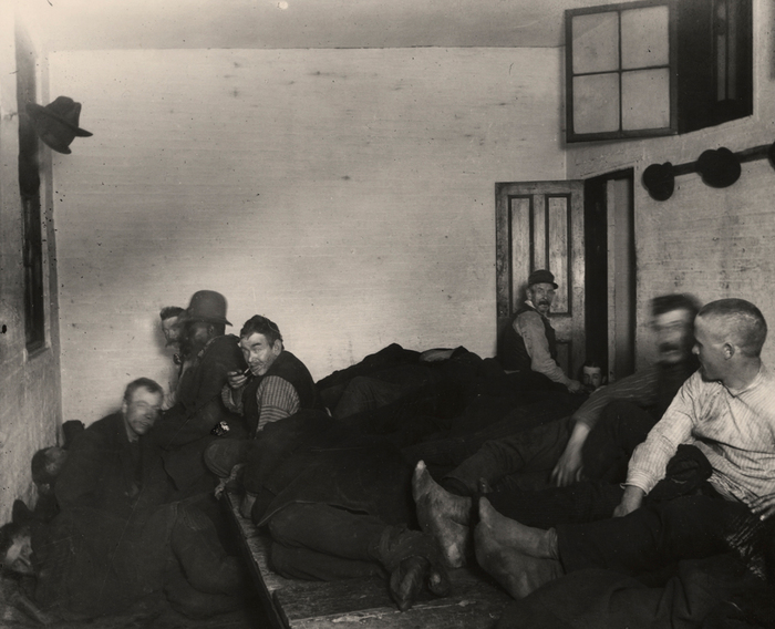 The Lodging-room at the Leonard Street Police Station