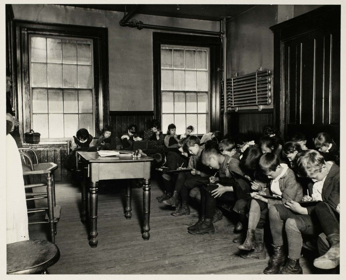 Classes in Allen St. and Chrystie St. Public Schools