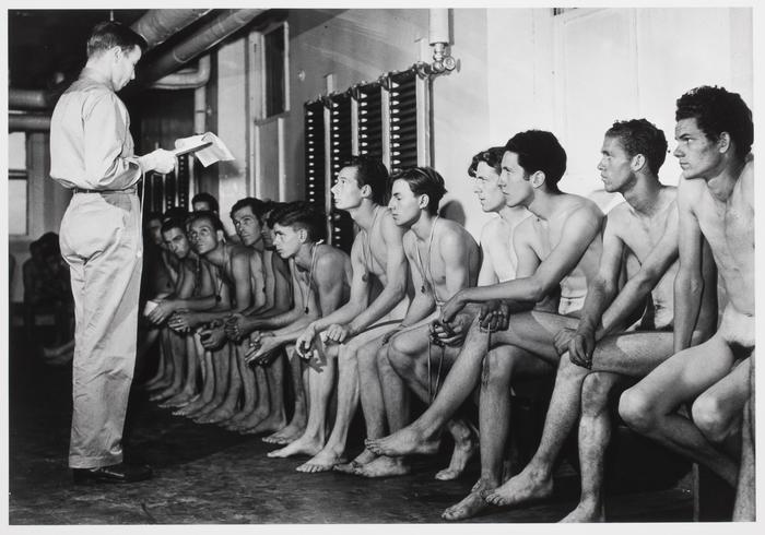 Recruits at Fort Slocum, New York