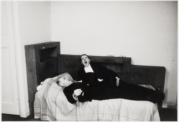 Peter Hunter and Erich Salomon, London