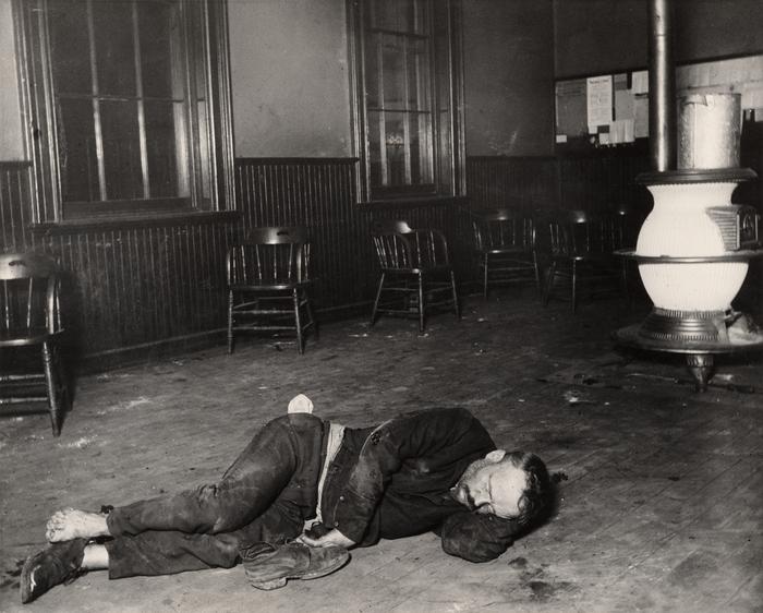 The single typhus lodger in Eldridge St.