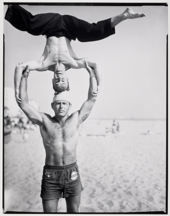 Headstand, Muscle Beach, Santa Monica, California