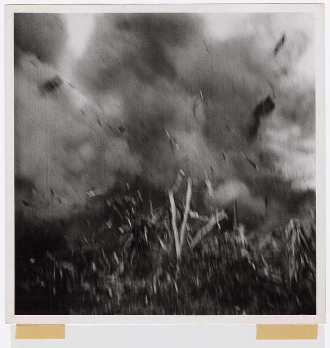 [Mortar explosion that wounded Smith, Okinawa]