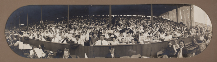[Opening Day at Ebbets Field, Brooklyn]