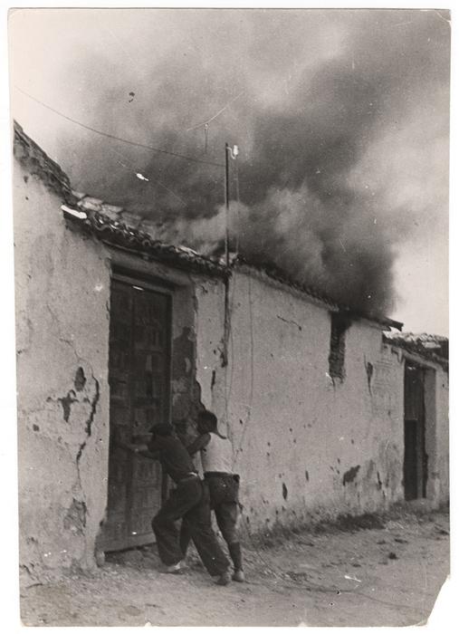 [Republican soldiers, Battle of Brunete, Spain]