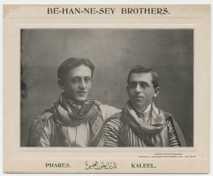 Behannesey Brothers, Phares and Kaleel