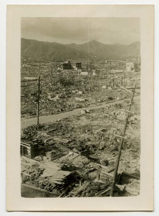 [Panorama of destruction, Hiroshima (right side)]