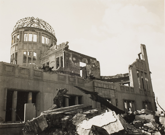 [Ruins of Hiroshima Prefectural Commercial Exhibtiion Hall (A-Bomb Dome)]