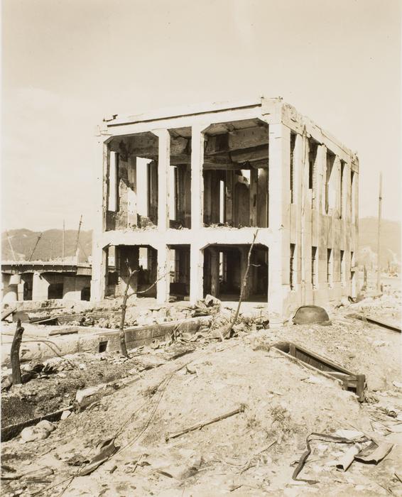 [Ruins of Red Cross Building, Hiroshima]