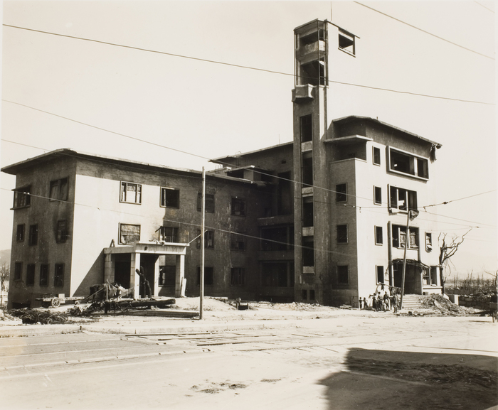 [Ruins of Hiroshima Chamber of Commerce]