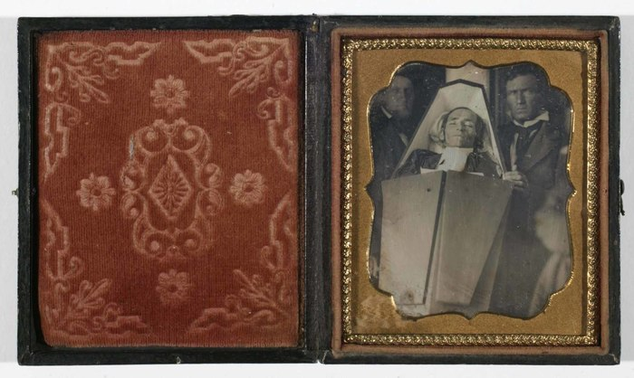 [Unidentified Clergyman in Casket]