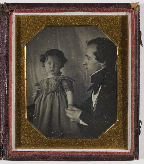 [Unidentified Man and Child]