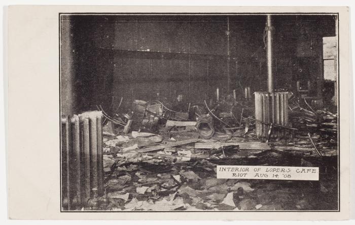 Interior of Loper's Cafe Riot