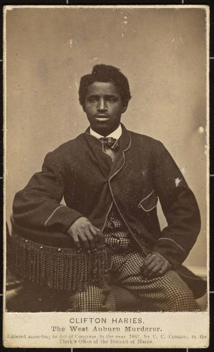 Clifton Haries, The West Auburn Murderer