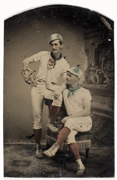 [Two Baseball Players]