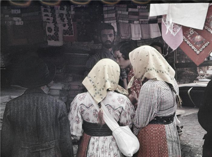 [Textile vendor, Carpathian Ruthenia]