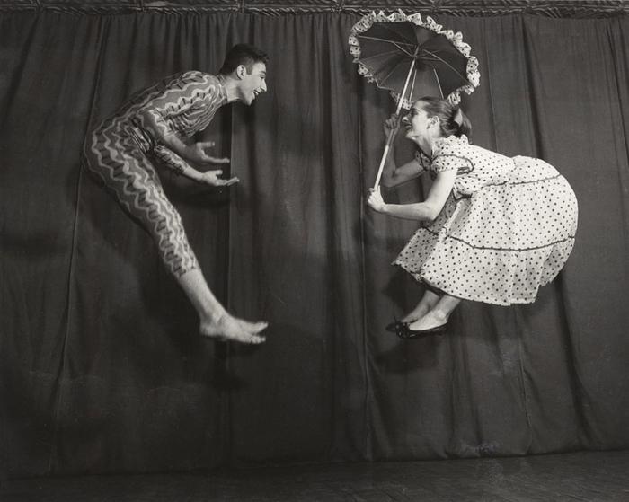 [Dancers Emily Frankel and Mark Ryder, New York]